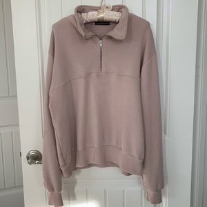 Light Pink Isabella Half-Zip
